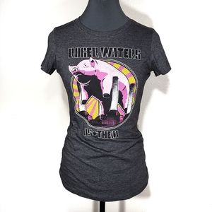 Roger Waters Us + Them Graphic Band Tee